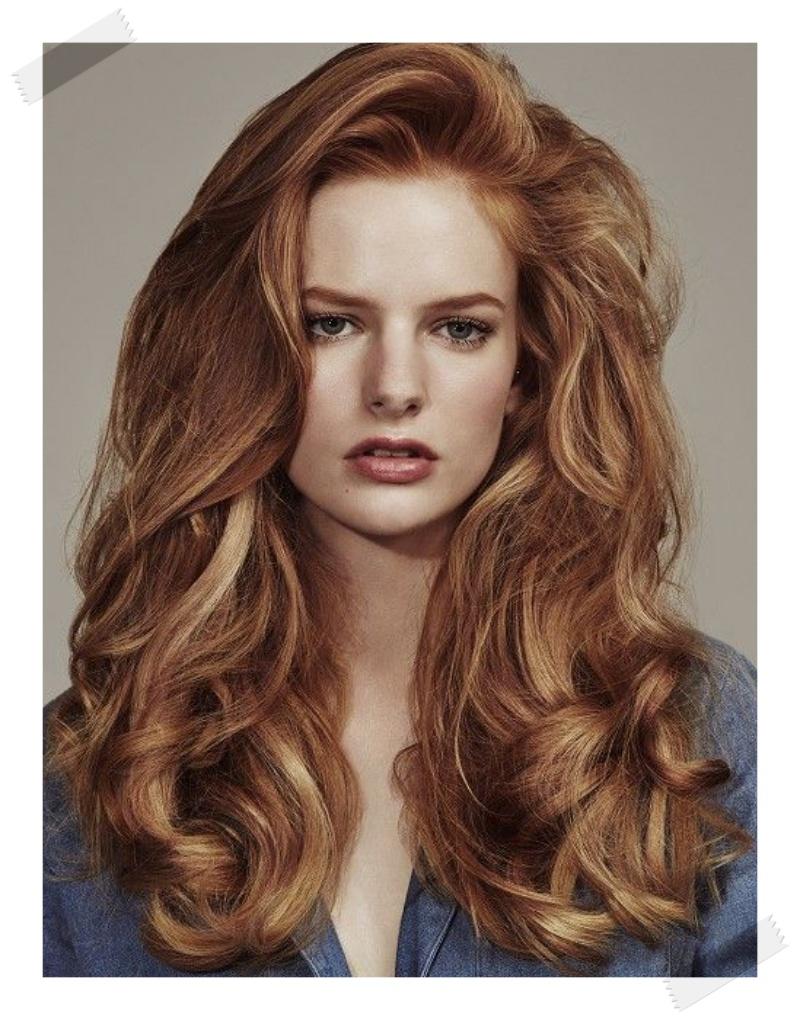 ronze rude włosy, ginger hair, miedziane włosy, miedziany