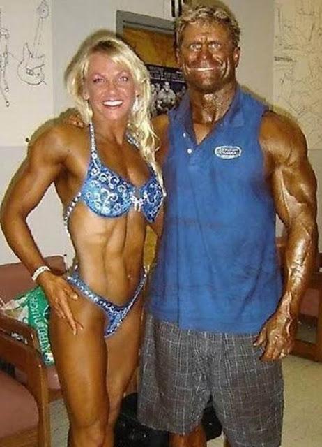 foto pasangan terunik terlucu teraneh dan ternorak di dunia-5