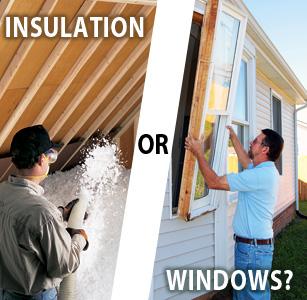 Insulation or Windows