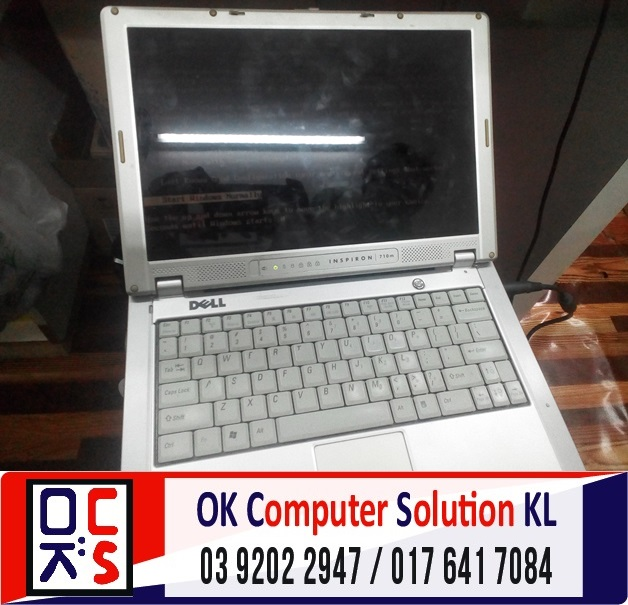 [SOLVED] HARD DISK ROSAK DELL INSPIRON | REPAIR LAPTOP CHERAS 1