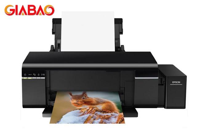 Hình ảnh chiếc máy in phun màu epson l805