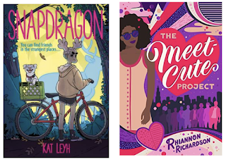 Cover images for Snapdragon and The Meet Cute Project