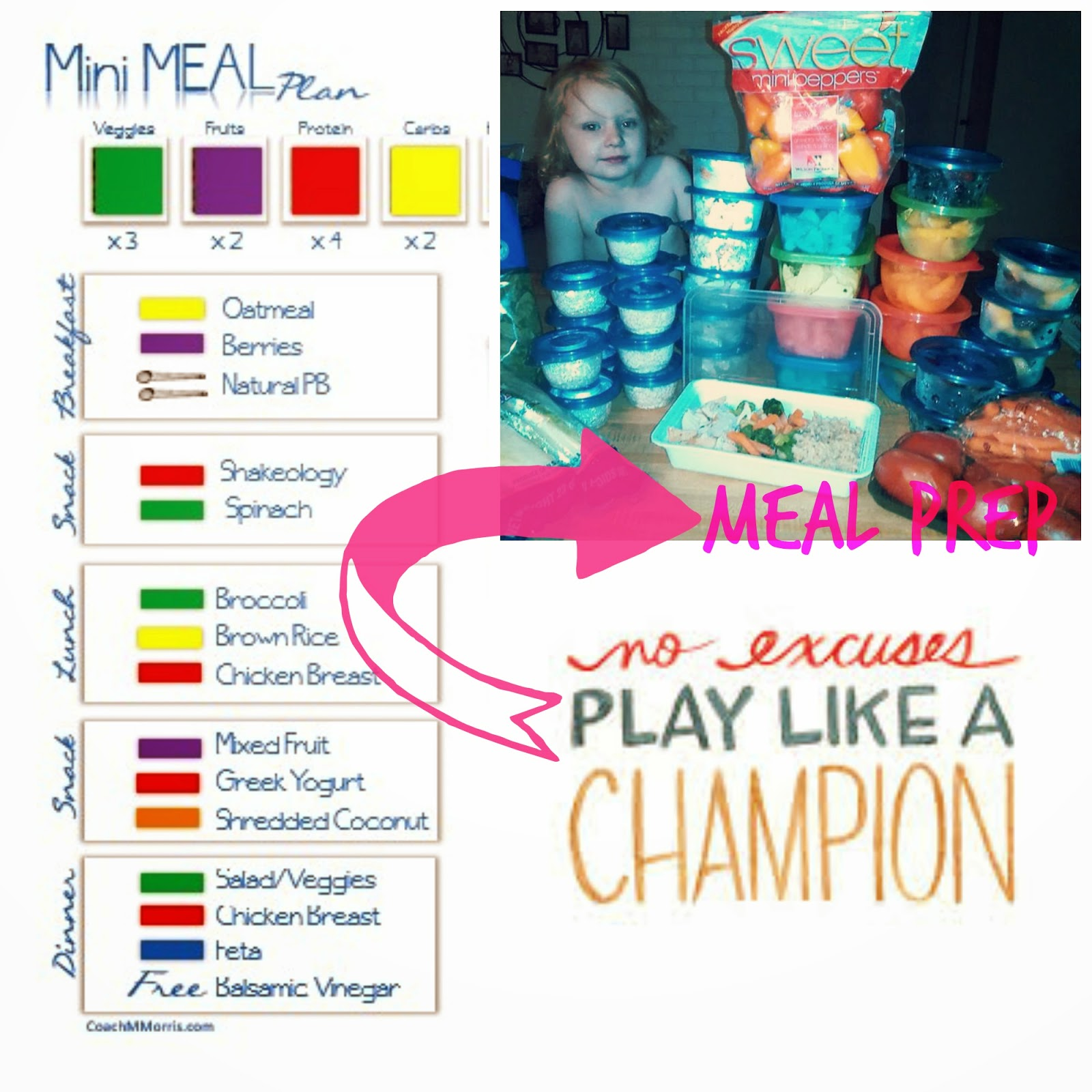 21 Day Fix: Meal Plan 3 - To Insanity & Back