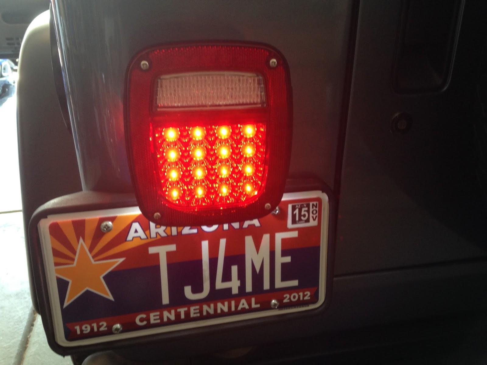 Quadratec Led Tail Light Modification Truck Camper Adventure