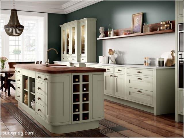 اسعار المطابخ الخشب 2020 6   Wood kitchen prices 2020 6