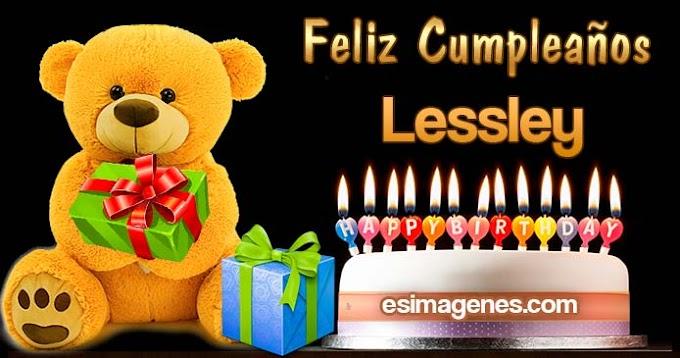 Feliz Cumpleaños Lessley