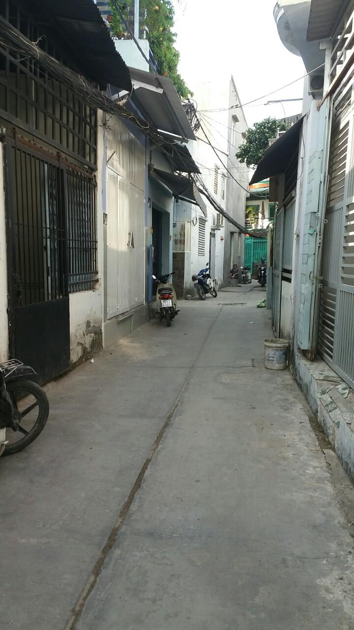 Bán nhà nát hẻm 2549 Phạm Thế Hiển phường 7 Quận 8 giá rẻ