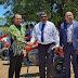 Pemeritah RI Hibahkan 100 Unit Traktor Tangan ke Petani Fiji.