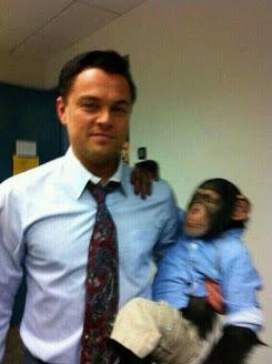 Leonardo DiCaprio meet my son Monkey/monke meme template