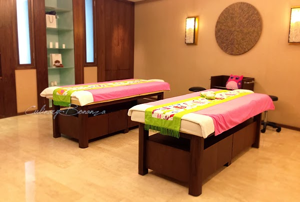 Jiwa SPA on fifth floor at Hilton Bandung