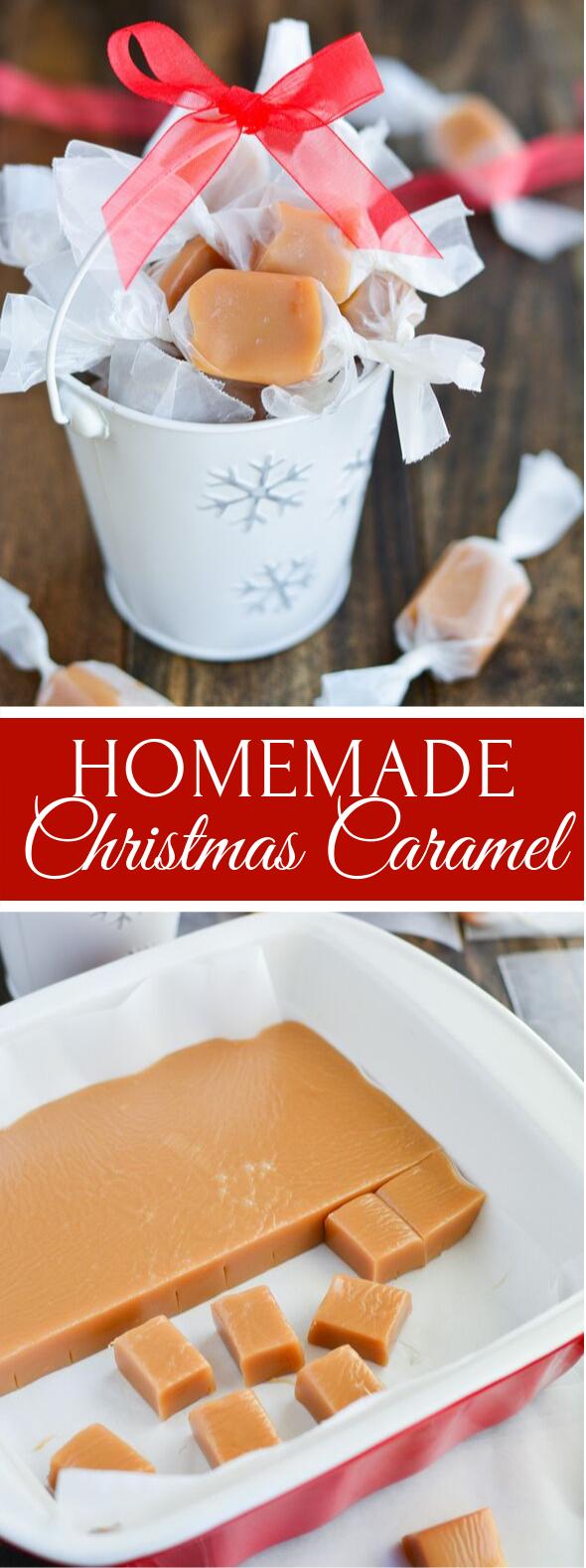 HOMEMADE CARAMELS #desserts #thanksgiving
