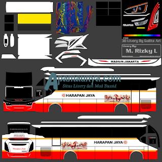 Download SR2 Transporter Harapan Jaya Bussid