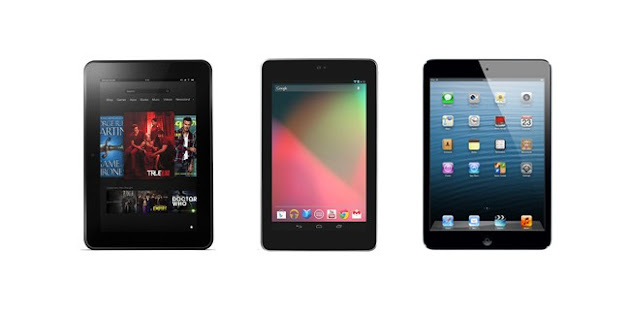 iPad Mini 2 vs Nexus 7 2013 vs Kindle Fire HDX- Which tablet is best to buy for Christmas Gift