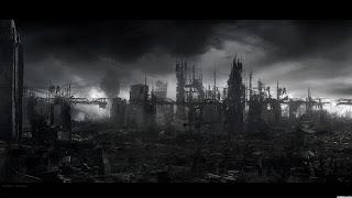 kota dipenuhi kegelapan