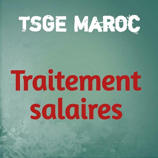 Formules De Calcul Des Charges Salariales Tsge Maroc