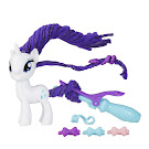 MLP Twisty Twirly Hair Rarity Brushable Pony