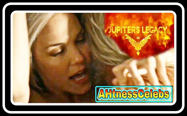 Leslie Bibb sex scene - Jupiter's Legacy (2021)