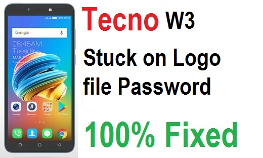 Get Tecno W3 recovery image file password