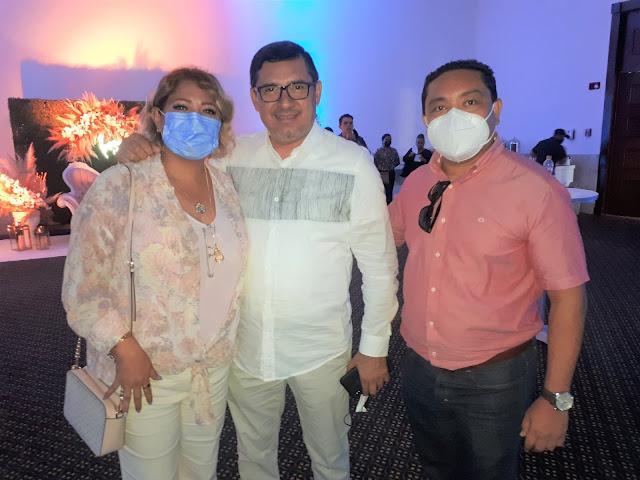 Verónica Rubio, Mauro Sosa y Luis Gaspar.