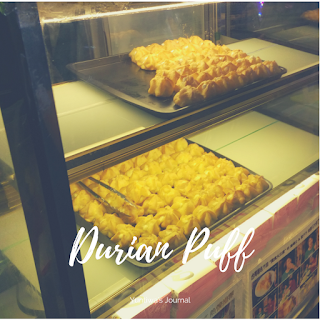 Jajanan dan Makanan Ringan Melaka Malaysia - Durian Puff