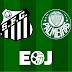 Desfalcadíssimos, Palmeiras e Santos perdem fora de casa