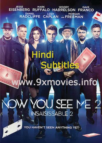 Now You See Me 2 (2016) English 480p BluRay 350B Hindi Subs