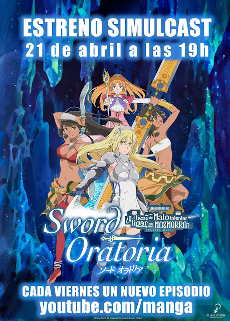 Dungeon ni Deai o Motomeru no wa Machigatteiru no Daro ka? Gaiden: Sword Oratoria