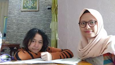 Guru les privat matematika fatonah bersama siswa