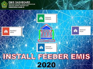 install aplikasi feeder emis