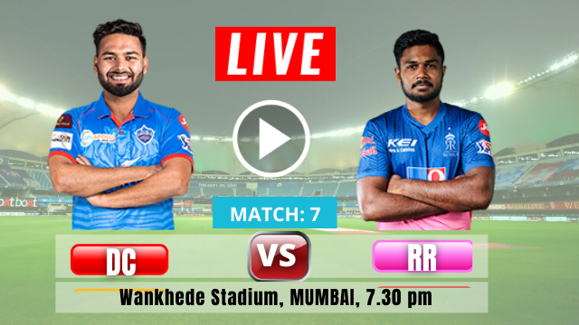 Rajasthan Royals VS Delhi Capitals, Match number 7, IPL 2021
