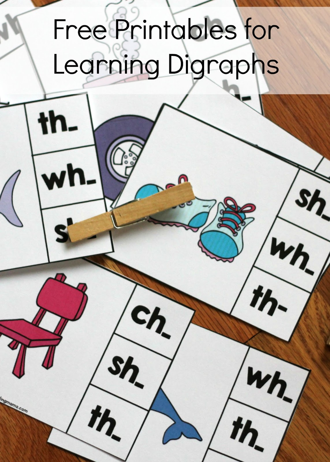 Learning About Digraphs Free Printables Reading Confetti