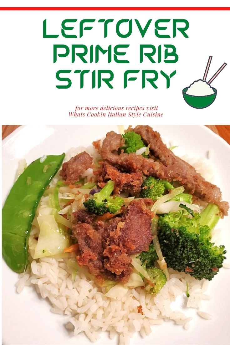 this is leftover prime rib stir fry pin for later