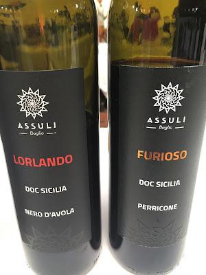 Assuli Baglio wines of Sicily