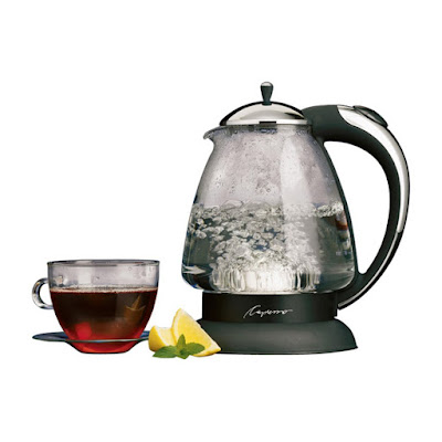 This Capresso tea kettle boils water so quickly. A great gift for the tea lover.
