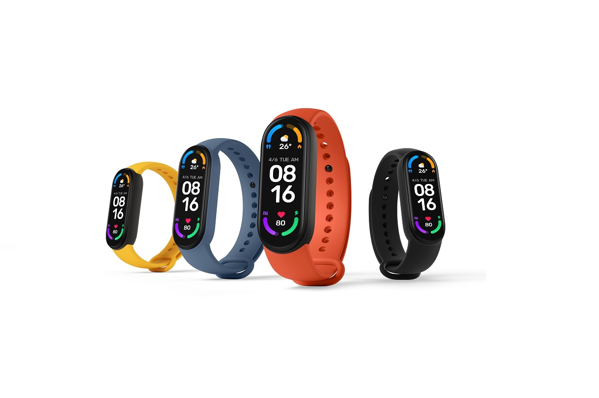 Mi band 6 with better activity tracking
