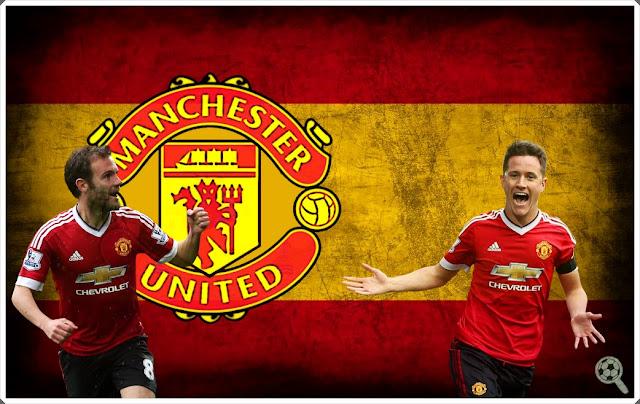 Juan Mata Ander Herrera Manchester United