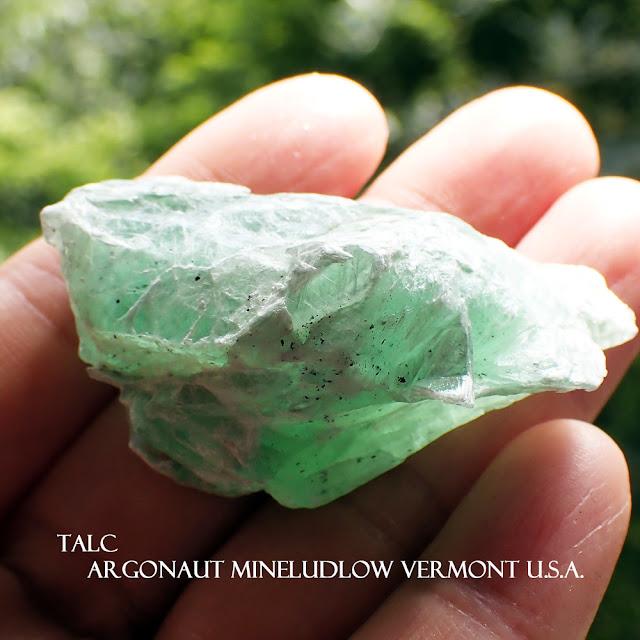 TALC Argonaut MineLudlow Vermont U.S.A.