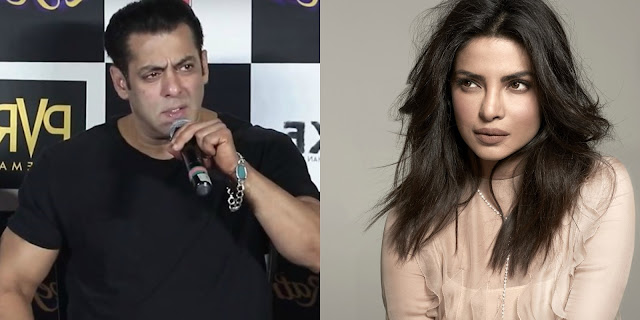 She called 1,000 times to be in 'Bharat': Salman Khan takes a dig at Priyanka