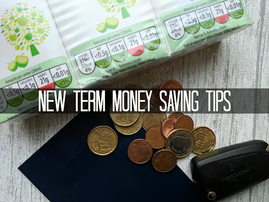 Finance Fridays – New term money saving tips