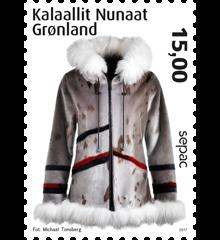 Grönlanti käsityö postimerkki 2017