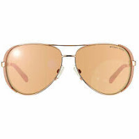 NWT Michael Kors Sunglasses MK 5004 1017R1 Rose Gold/Mirrored Rose Gold 59mm NIB