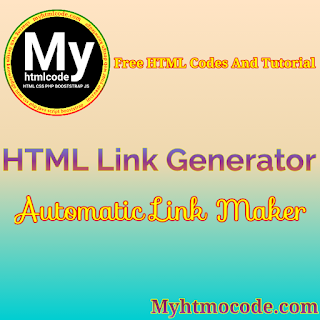 HTML Link Generator