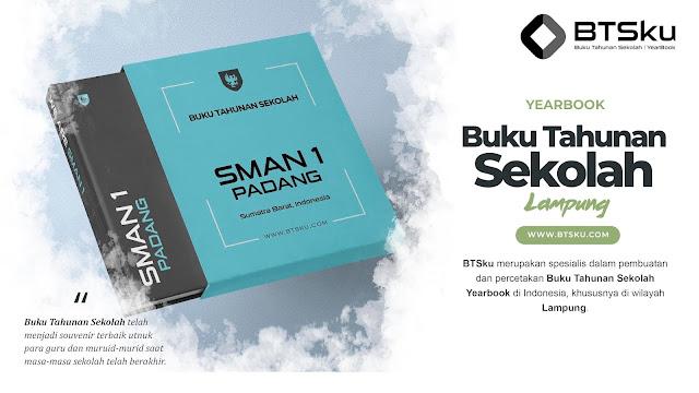 Buku Tahunan Sekolah Yearbook Kota Lampung