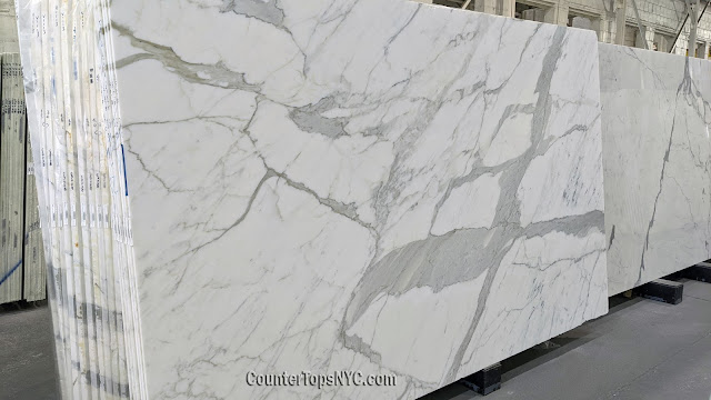Calacatta Gold Honed Marble NYC 2cm