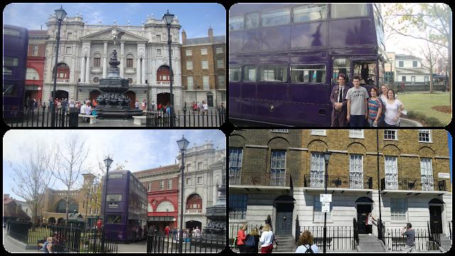 Construções de Londres, Harry Potter