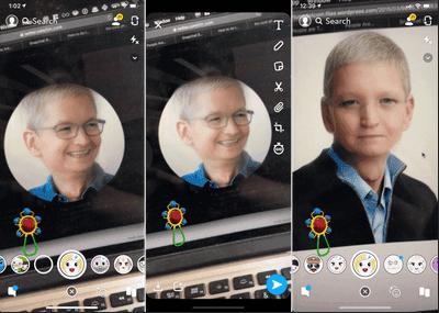 aplikasi filter baby face edit muka jadi anak kecil seperti bayi