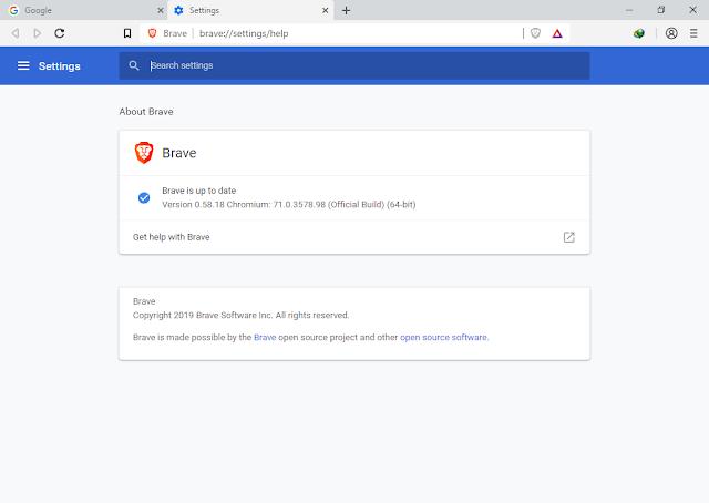 تحميل متصفح الأنترنت Brave Browser Brave+Browser+0.58.1