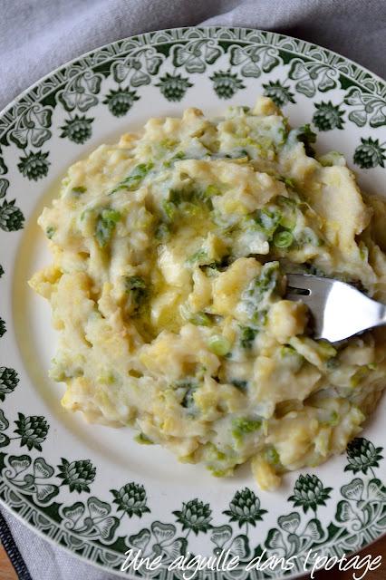 Colcannon, irish recipe