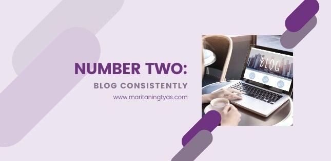 ngeblog konsisten di 2021