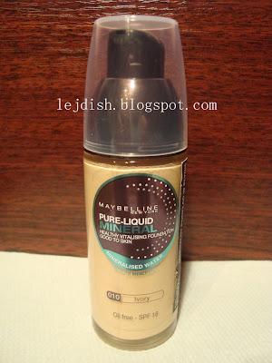Podkład - Maybelline pure liquid mineral